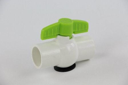 Manufacturer PVC Plastic Thread Ball Valve