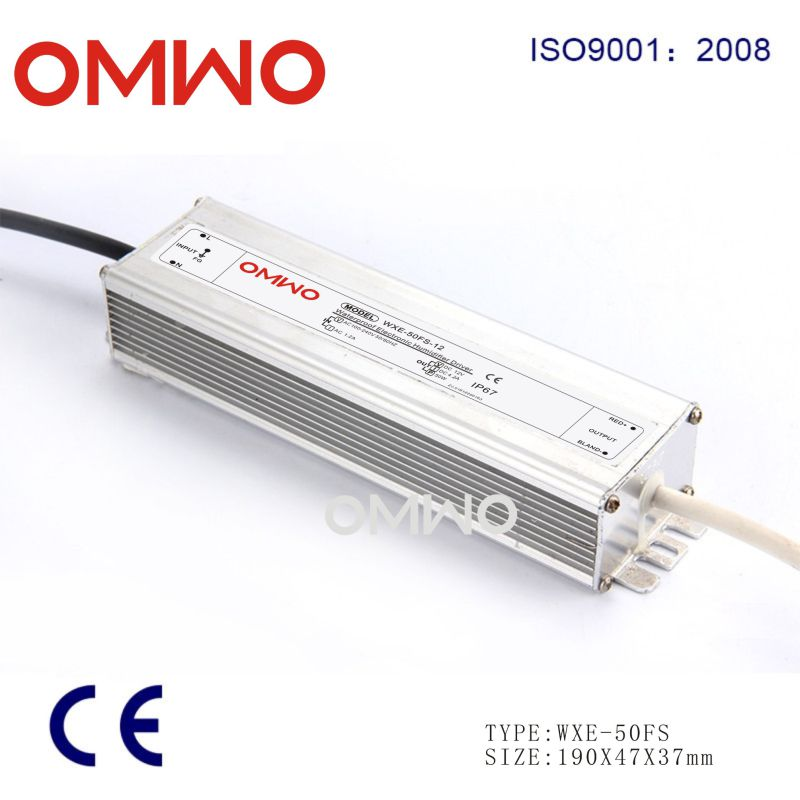 Waterproof Power Transformer 12V DC 12V Switching Power Supply Wxe-100fs-12