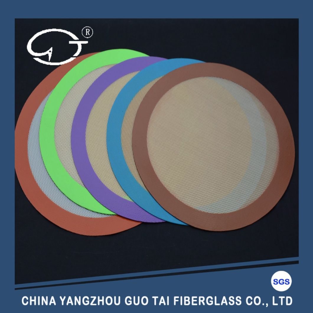 Non Stick Custom Silicone Baking Anti-Slip Pastry Circle Mat