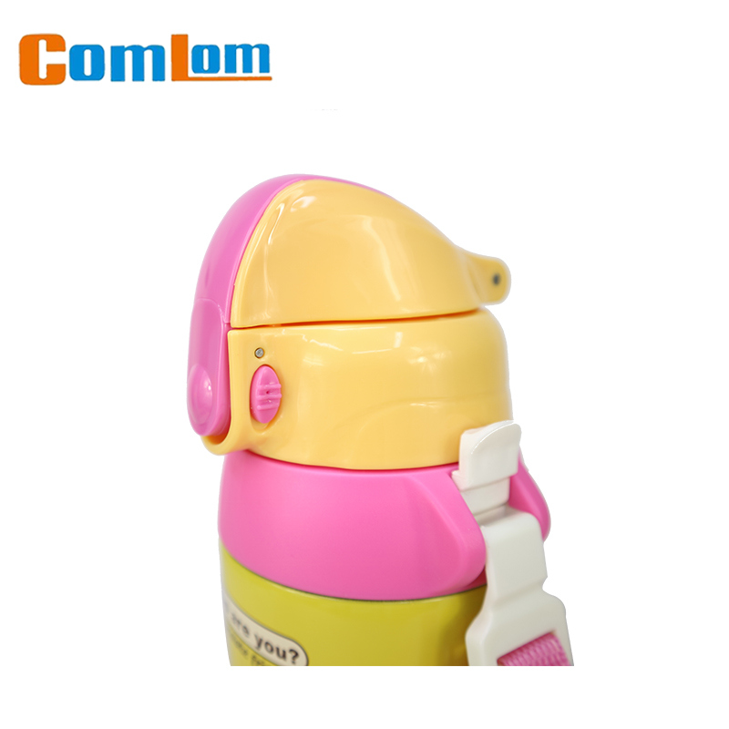 Comlom Kids Sports Bottle Stainless Steel Vacuum Flask