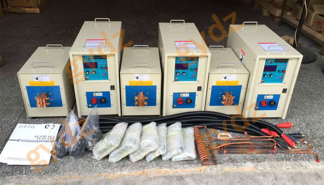 Copper Sheet Brazing High Frequency Induction Soldering Machine