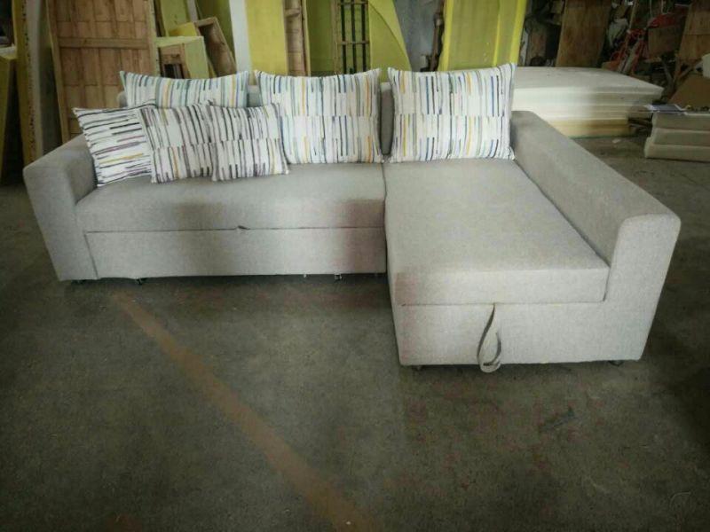 Manual Style Recliner Bed Sofa, Fabric Sofa (HA10)