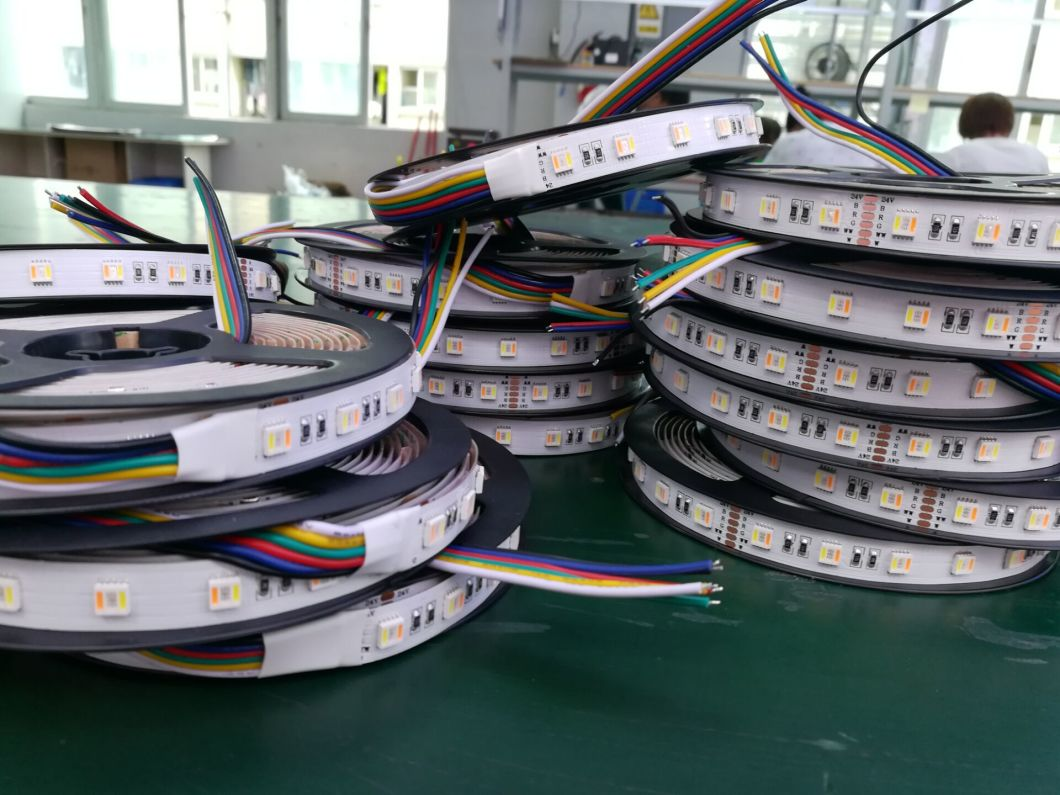 24VDC RGB+CCT 5in1 Chip Adjustable 5 Colors LED Light Strips