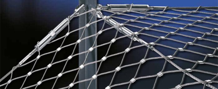 Zoo Birds Aviary Mesh Stainless Steel Wire Rope Net