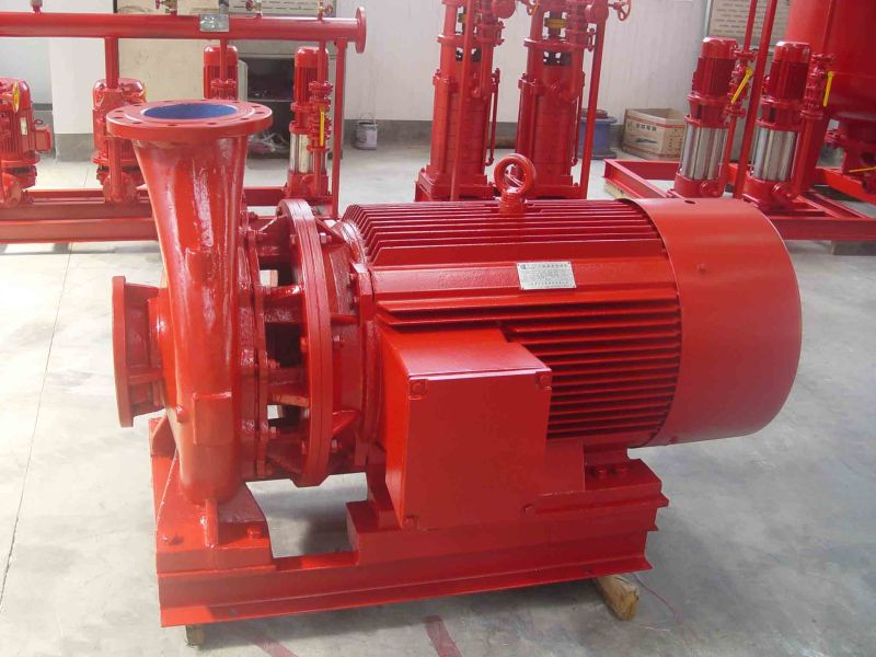 Stable Constant-Pressure Fire-Fighting Pump with Jockey Pump