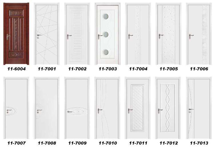 Interior Solid Wooden Door (11-7011)