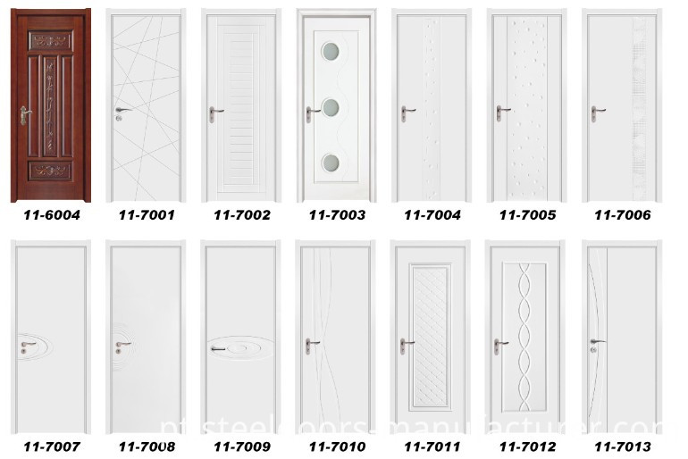 Interior Solid Wooden Door (11-7011)