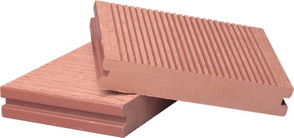 Solid WPC Wood Plastic Composite Outdoor Floor Decking (M38)