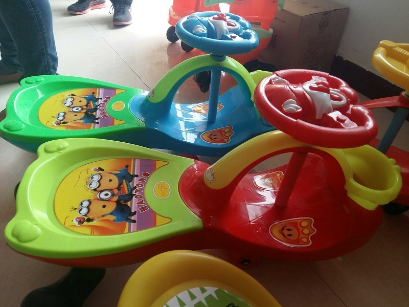 Best Price Kids Cars Baby Toys Colourful Baby Swing Multifunction Baby Cheap Twist Car Kids