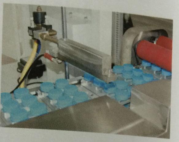 Automatic 4 Color Plastic Bottle Caps Pad Printer