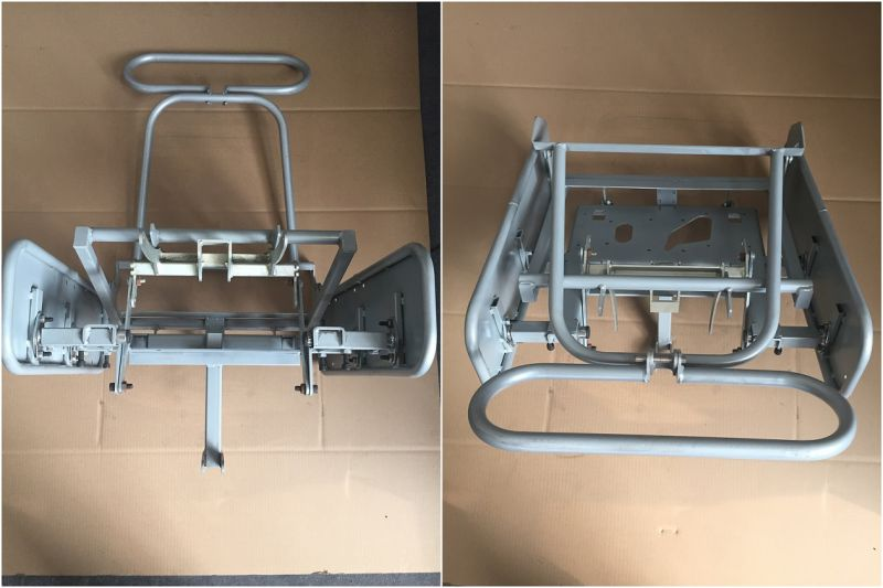 Golf Cart Frame with Black Powder Coating