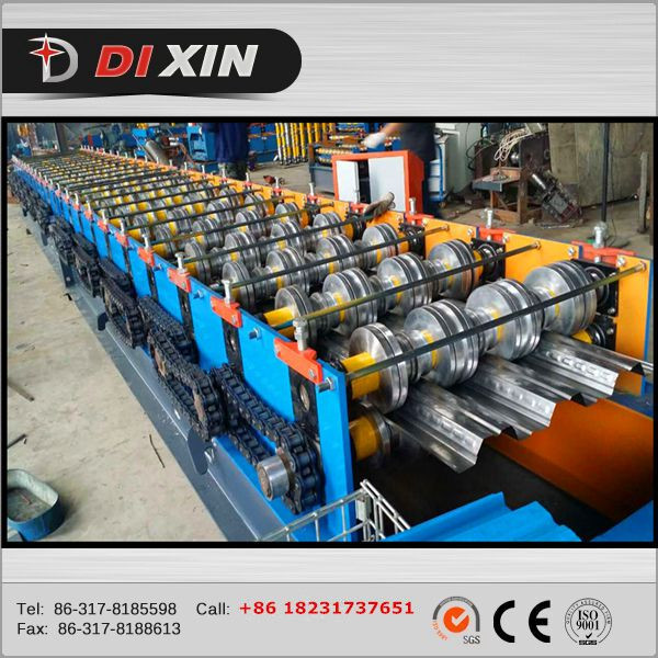 Floor Decking Metal Panel Roll Forming Machine Manufacturer