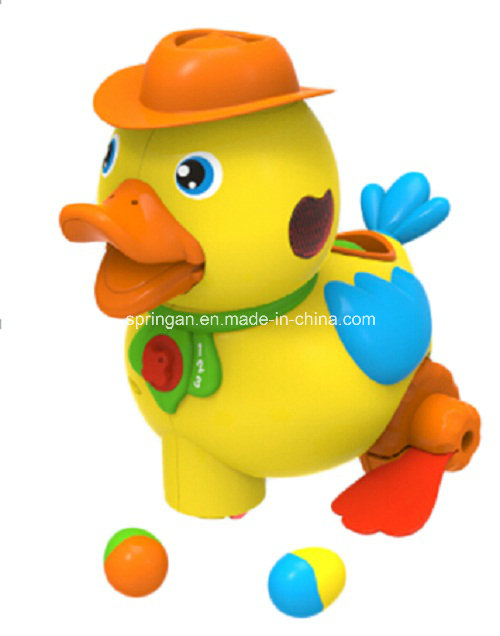 Funny Yellow Duckling Musical Instrument Toy