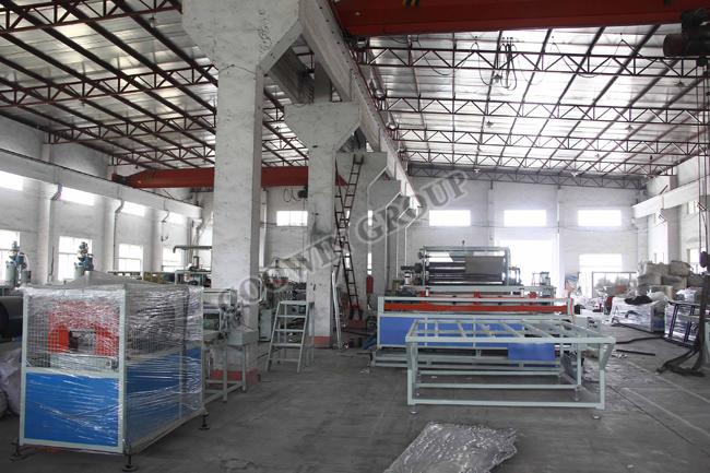 PE PP PVC WPC Extrusion Line, Wood Plastic Composites Extrusion Line