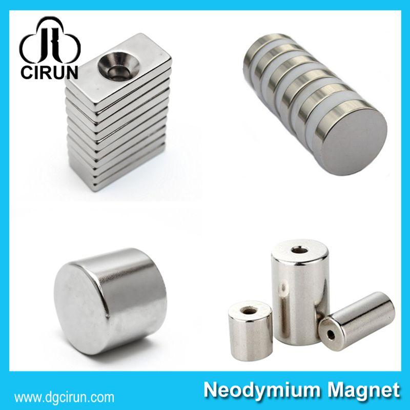 China Manufacturer Super Strong High Grade Rare Earth Sintered Permanent CD Magnet/NdFeB Magnet/Neodymium Magnet