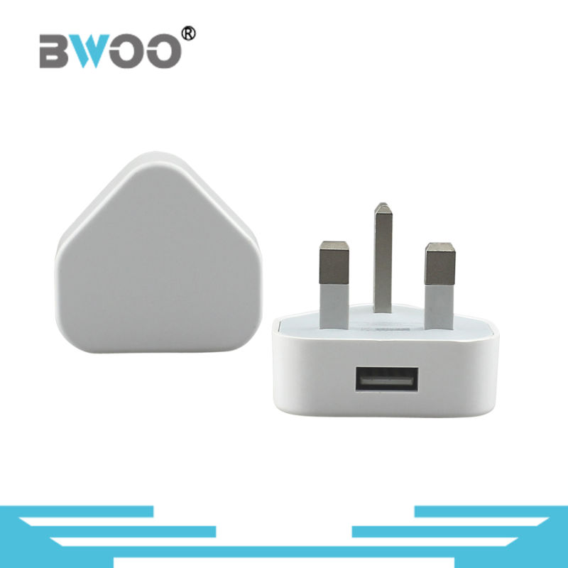 1 USB UK Wall Charger for Mobile Phone