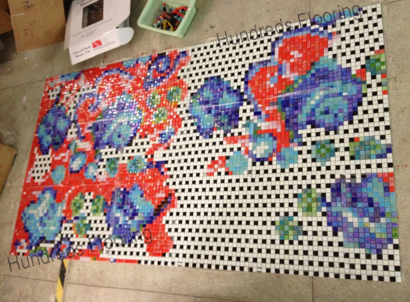 Mosaic Picture Design for Wall Tile (HMP869)