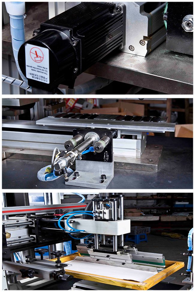 Automatic Carousel Silk Screen Printing Machine for Student Ruler