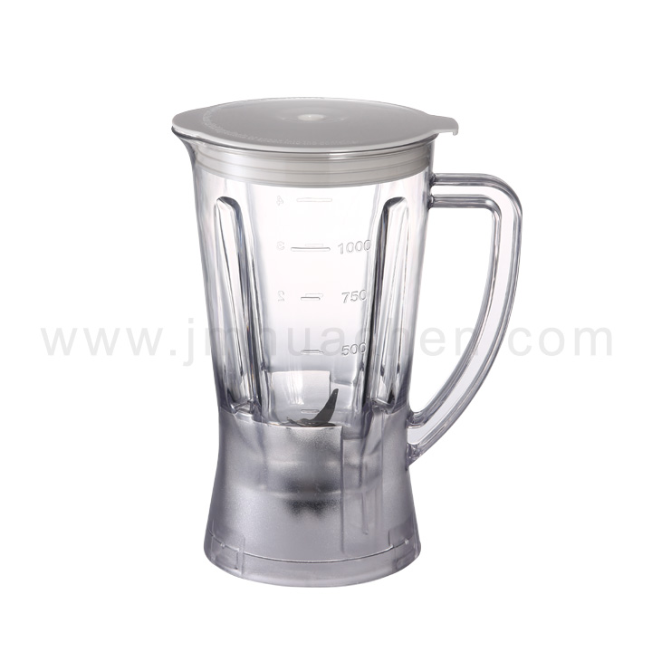 Food Blender Home Appliance Push Button Plastic Jar