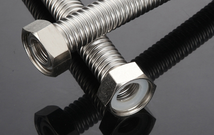 Flexible Stainless Steel Hose for Bathroom, Toilet