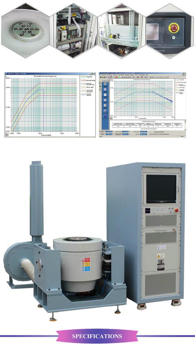 Electrodynamic Mechanical Shaker Table Xyz Axis Vibration Testing Machine