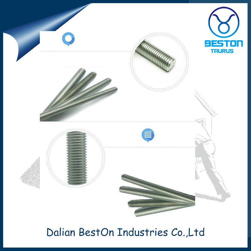 China Supplier Hot Sales High Quality DIN975 Thread Rod with Galvanized Stock