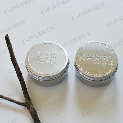 Customize Aluminum Jar for Cosmetic Cream Packaging (PPC-AJ-001)