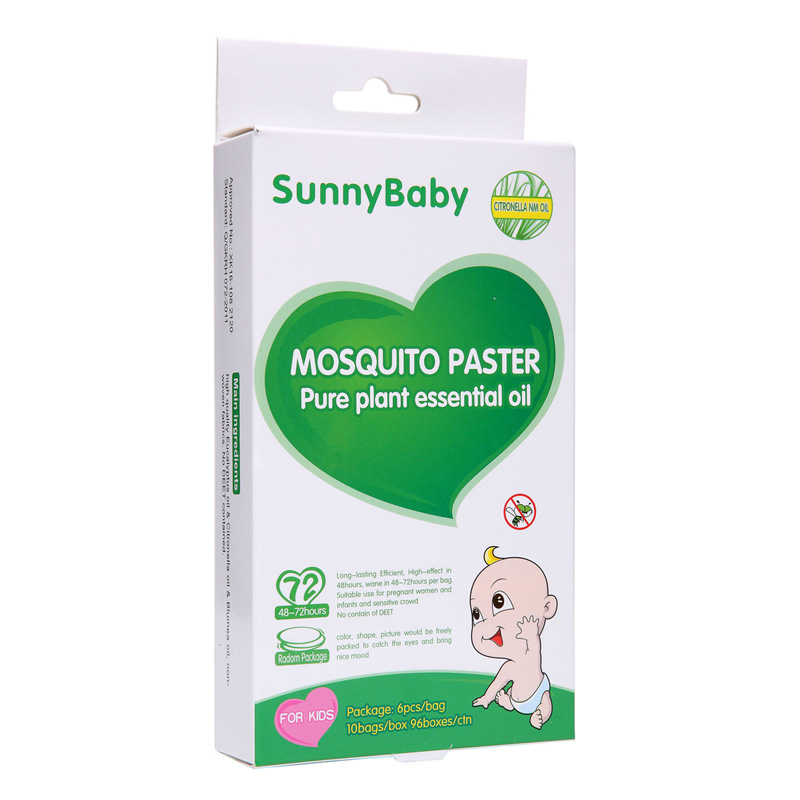 Mosquito Repeller Sticker (No DEET)