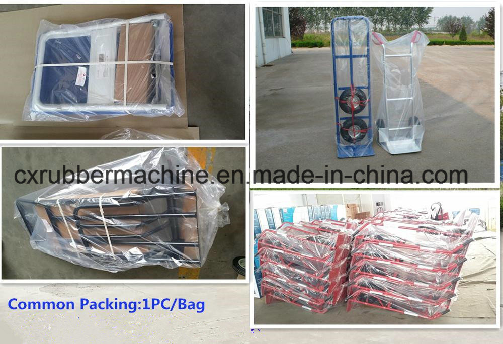 Ht1105 Aluminum Folding Hand Truck/Moving Foldable Hand Cart