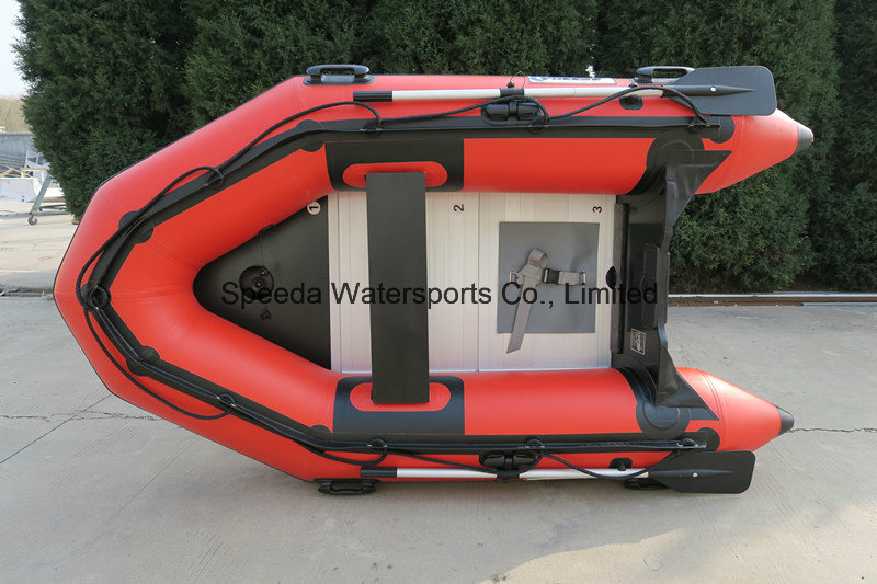 4.2m High Speed Inflatable Motor Boat for Rescue