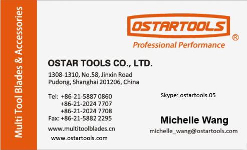Hcs 10mm 20mm 35mm Oscillating Multi Tool Saw Blades