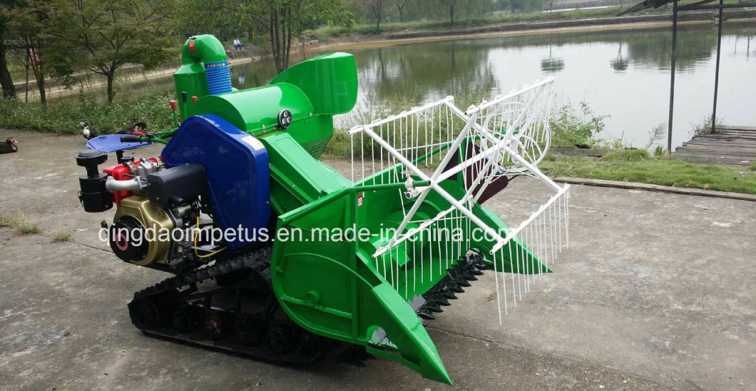 China Best Factory Supply Mini Rice&Wheat Combine Harvester