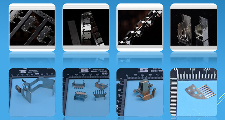 Types Customized Cable Terminal Stamping