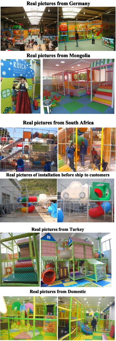 Low Price High Quality Plastic Children Indoor Playground (T1503-2)