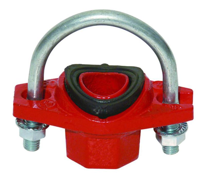 Ductile Iron 300psi NPT Threaded Heavy Duty Rigid Coupling