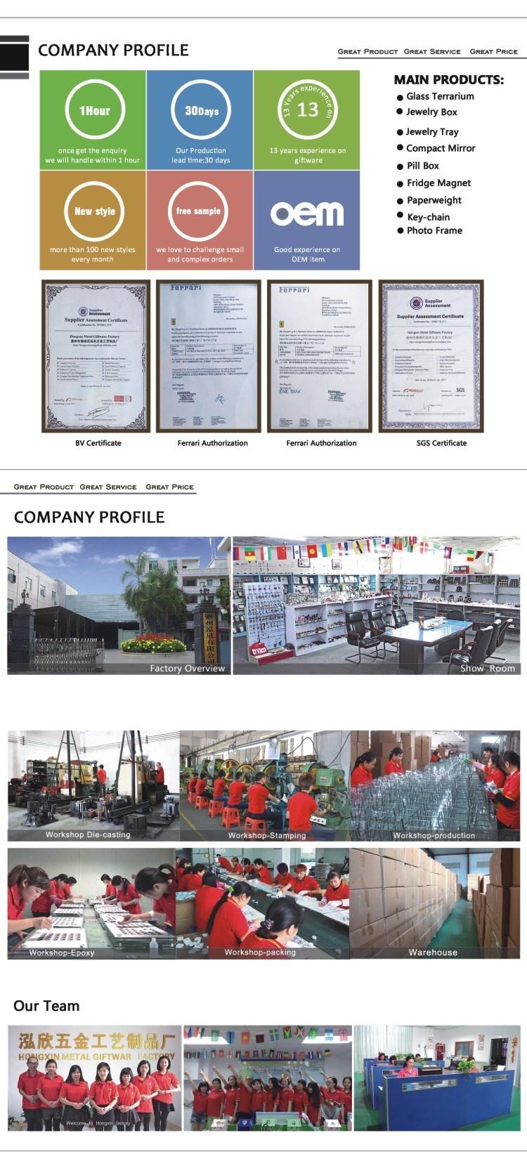 Indoor and Outdoor Metal Jewelry Box Manufacturer
