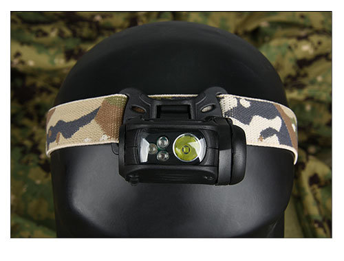 Outdoor Sport Tactical Mini Helmet Head Light Flashlight HK15-0065