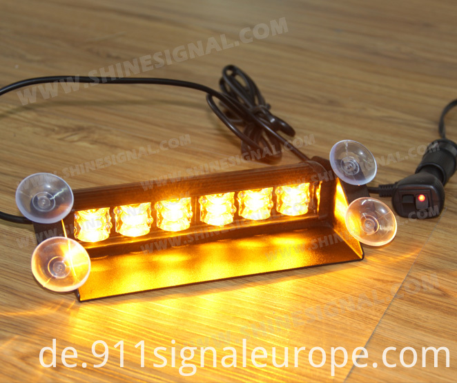 LED Visor Interior Police Warning Emergency Light (V47)