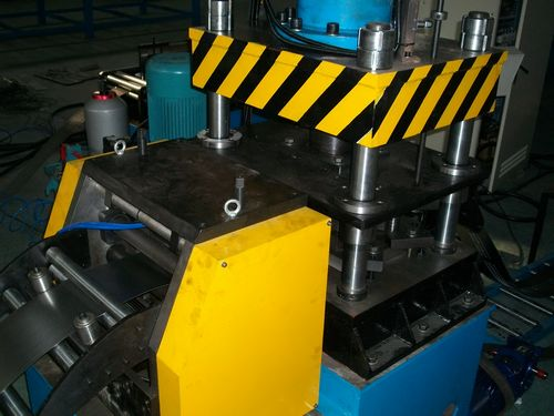 Electrical Cabinet Rack Roll Forming Machine Korea