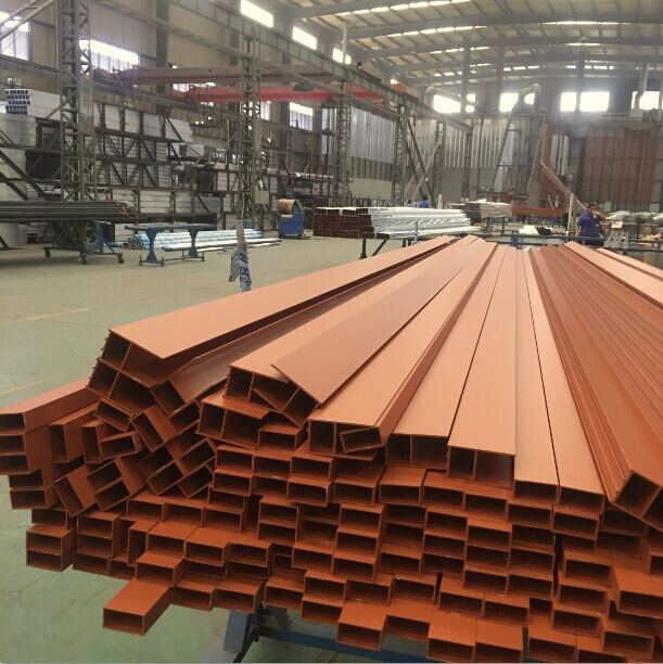 Aluminium Framework Aluminum Extruded Building Profile
