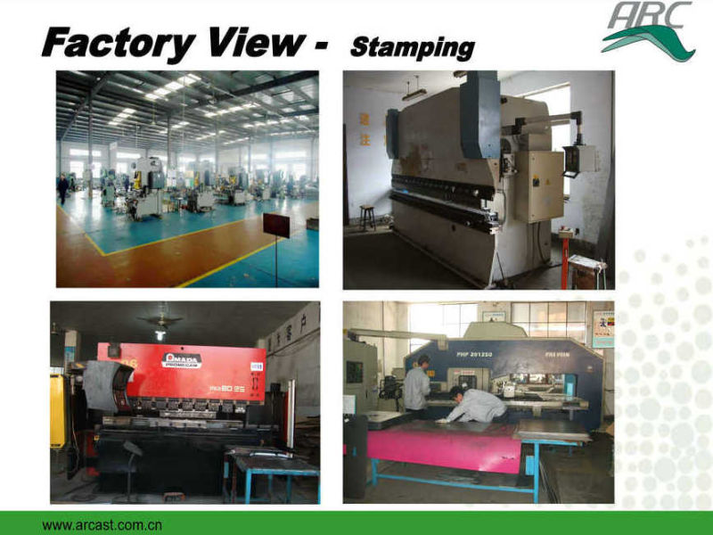 Metal Stamping OEM Pipe Clamp for Farming Breeding Machine