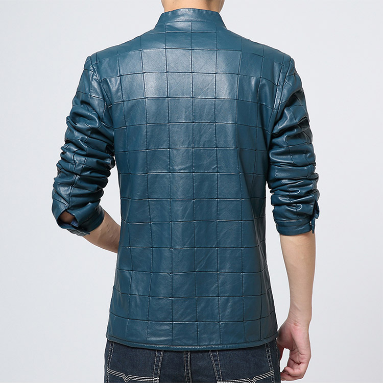 Fashion PU Leather Men Jacket