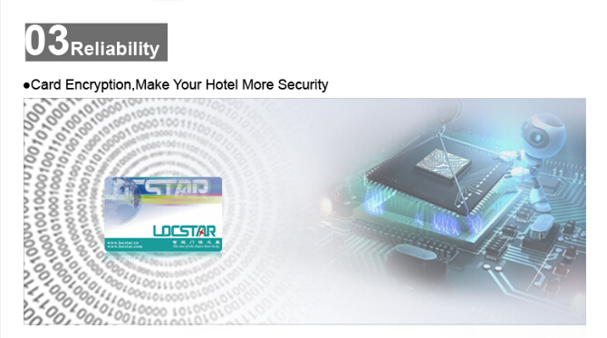 Smart Management System Hotel Electronic Door Lock with RFID