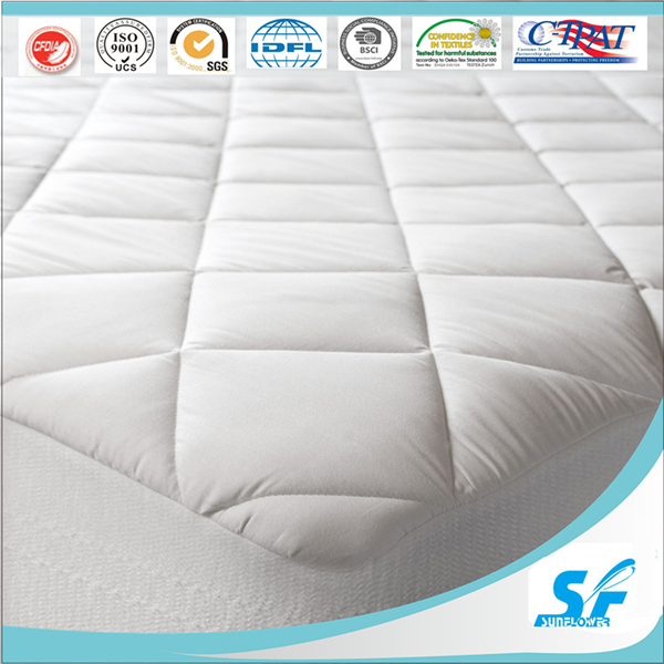 Diamond Quilted Mattress Protector for Hotel