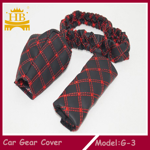 Genuine Leather Guangzhou Gear Shift Boot Cover