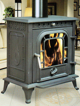 Cast Iron Wood Burning Stove (FIPA063) / Pellet Stove