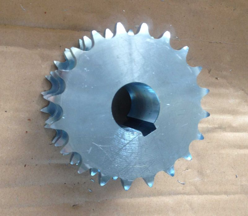 Triplex Zinc Plating Stock Sprocket for Agriculture and Industry Machine