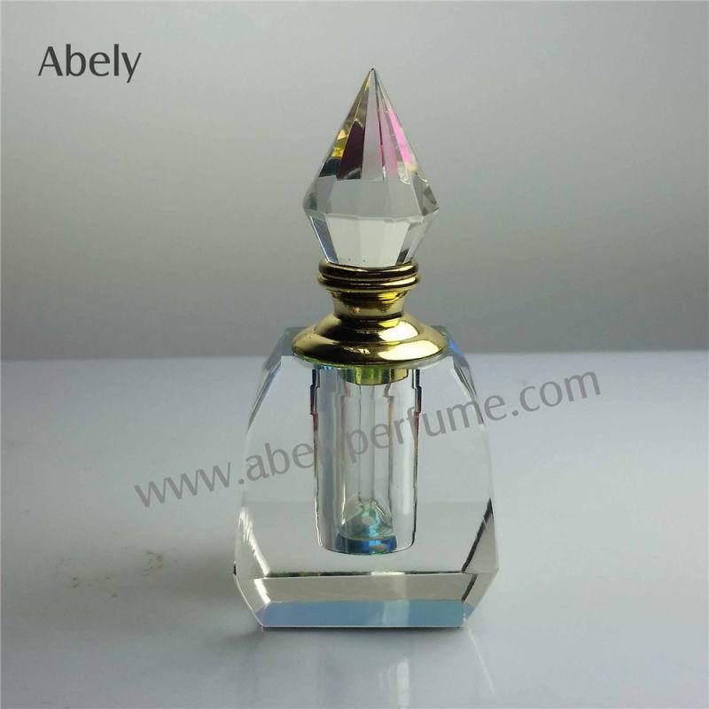 12ml Dxb Crystal Oud Perfume Oil Bottle