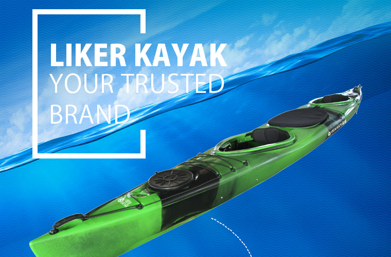 Easty 5.5 Ocean Double Seat Plastic Kayak