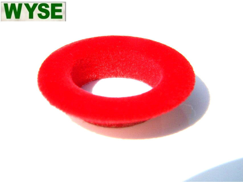Flocking Coating Eyelet for Garments Using